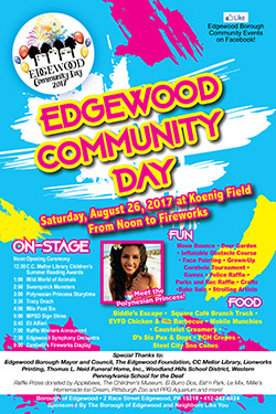 Edgewood PA Community days 2017
